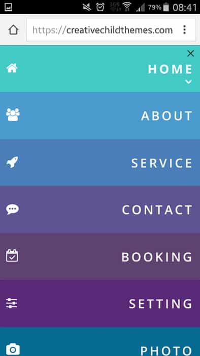 menu-mobile-style-3 mobile menu divi