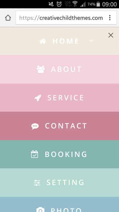menu-mobile-style-5 mobile menu divi
