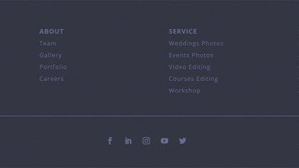 UI Footer 8(Needyesterday)