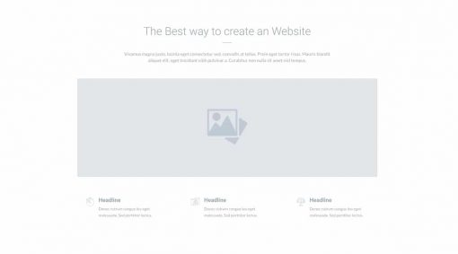 UI About us Wireframe 1
