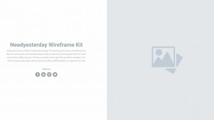 UI Contents Wireframe 7