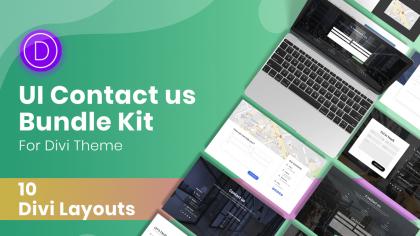 Ui-Contact-us-Bundle-UI-Kit-Divi-Layouts