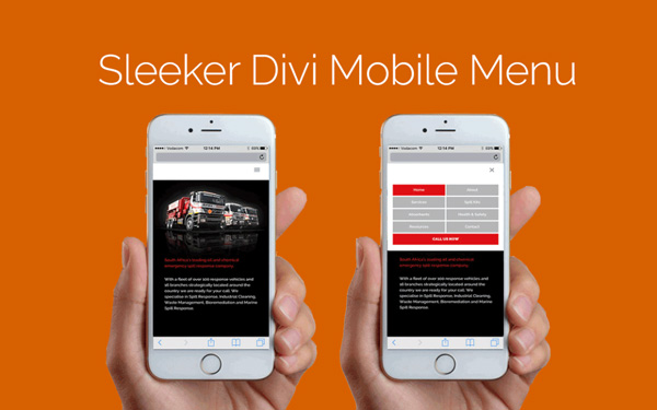 8 new style for mobile menu of Divi - Needyesterday